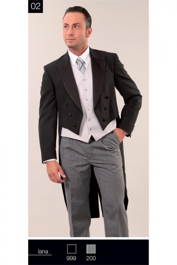 Frak Scialle Raso e Pantalone Tight