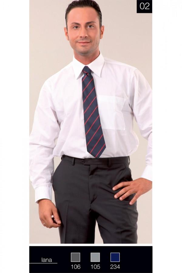 Pantalone Slim senza Pences