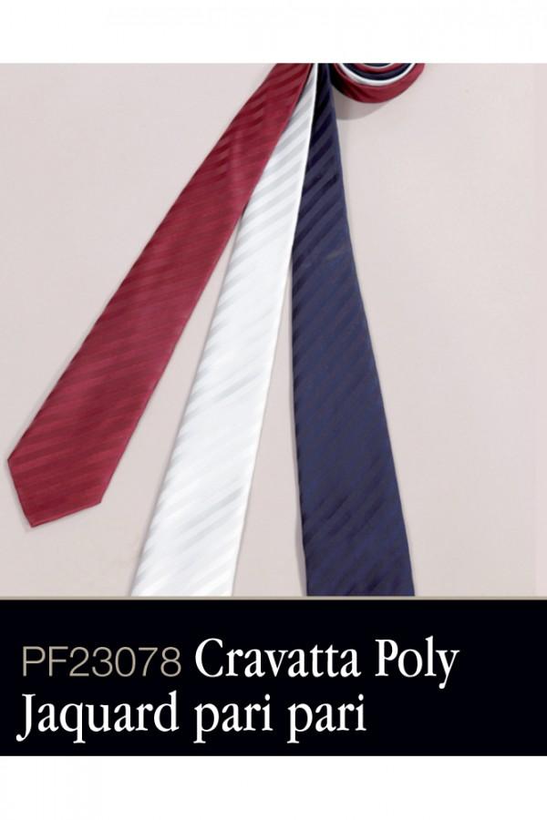 Cravatta Poly Jaquard pari pari