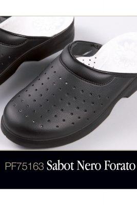Sabot Nero Forato